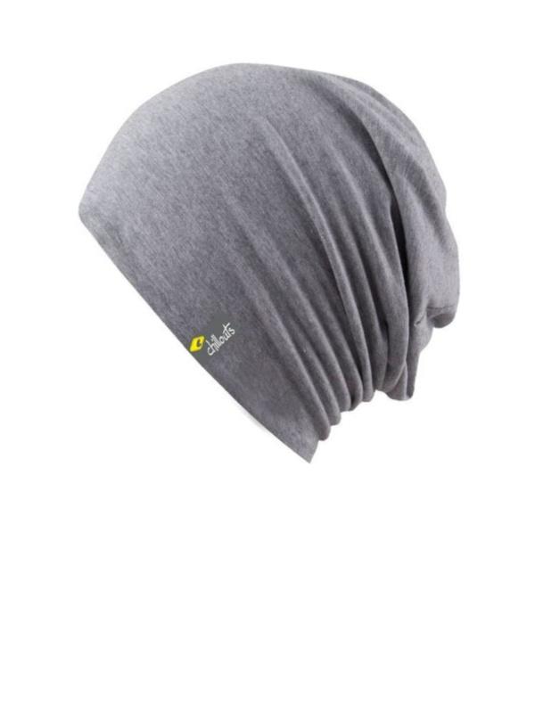 Top Aca Grey met UV bescherming - chemo mutsje / alopecia mutsje - EN