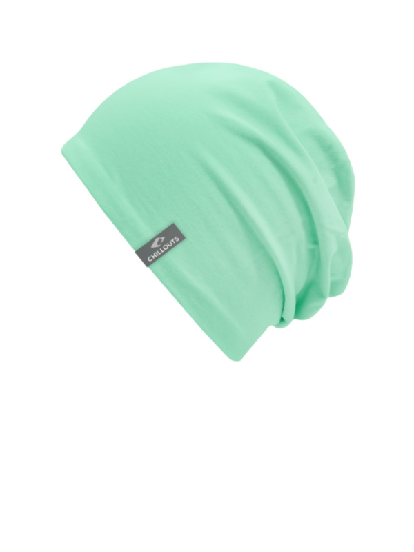 Top Aca mint met UV bescherming - chemo mutsje / alopecia mutsje - EN