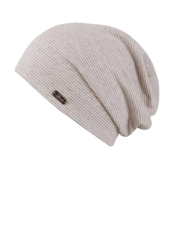 Beanie Piti grey - chemo hat / alopcia hat