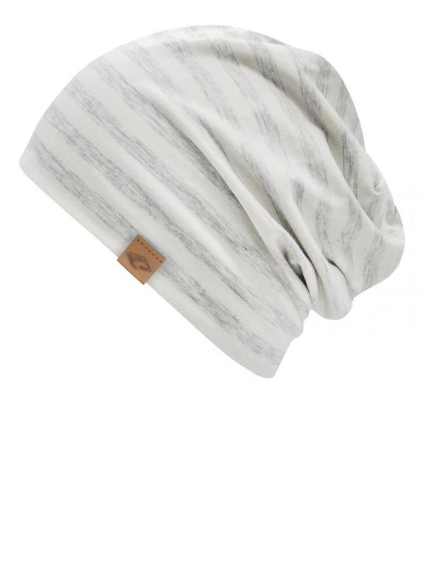Cambridge grey Stripes - chemo hat / alopecia headwear