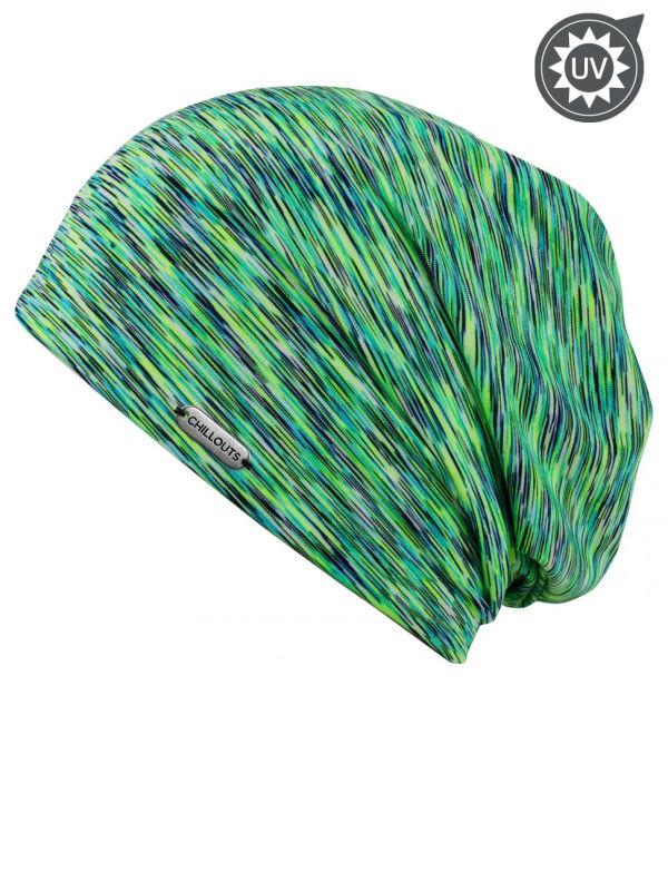 Beanie Helsinki green UV 50+ - chemo hat / alopecia headwear