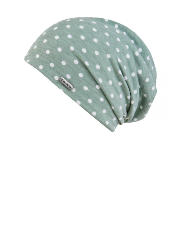 Beanie Lucy green - chemo hat / alopecia hat