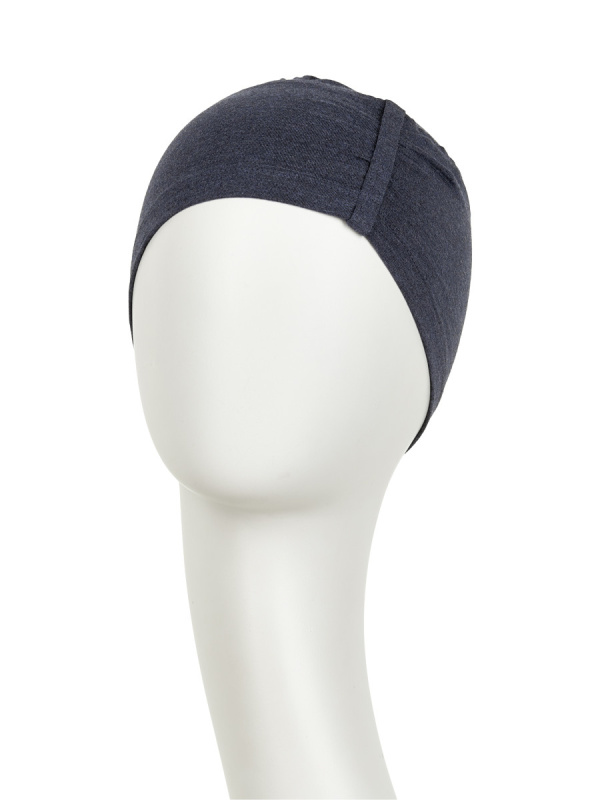 Sleep Cap Blue - chemo hat / alopecia hat