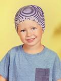 Beanie Petite Bunny Printed - kinder chemo mutsje / alopecia beanie - EN