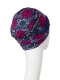 Turban Shakti Artistic Autumn - cancer hat / alopecia headwear