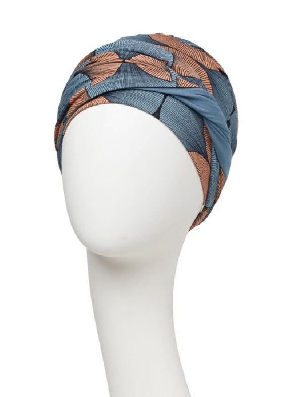 Turban Shakti Autumn Illusions - cancer hat / alopecia headwear