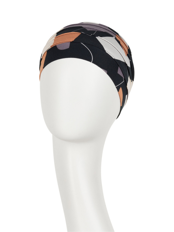 Top Yoga Shapes of Browns - cancer hat / alopecia headwear
