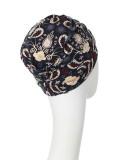 Top Yoga modern paisley - cancer hat / alopecia headwear