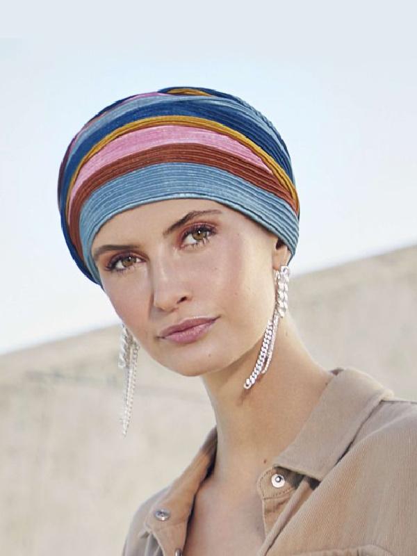 Turban Luna V - chemo hat / alopecia turban