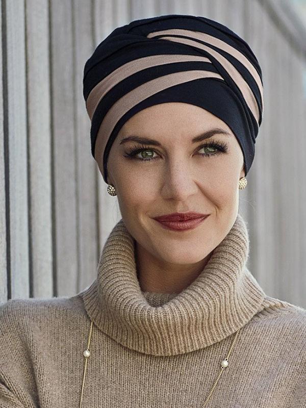 Top Shanti red - chemo hat / alopecia headwear