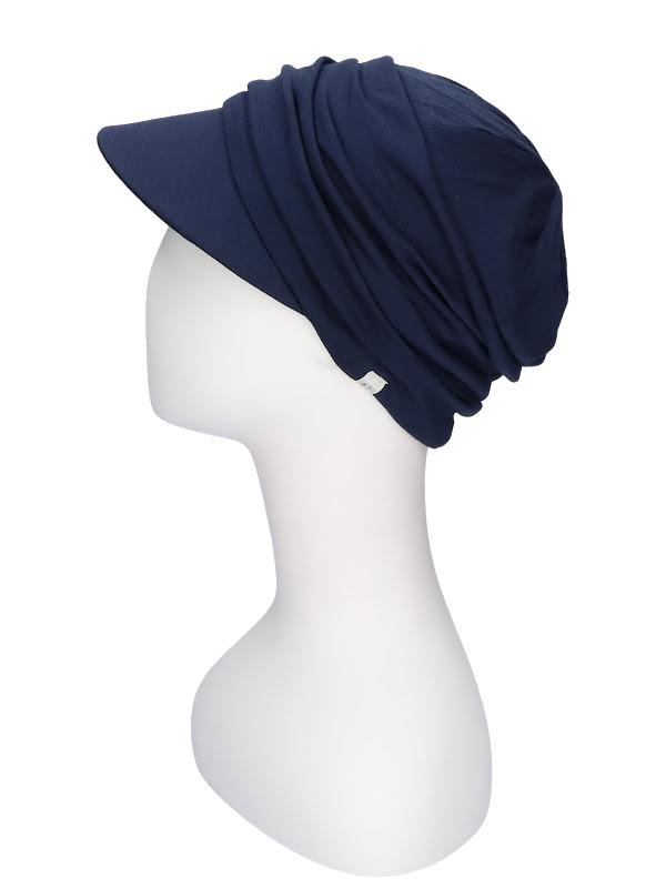 Cap B.B. Bella Blue - chemotherapy headwear / alopecia cap