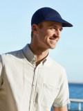 Pet B.B. Bennett - Blauw - mannen chemo pet /  alopecia hoofdbedekking - EN