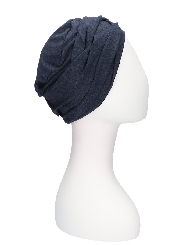 Top PLUS jeans - chemotherapy headcover / alopecia headwear