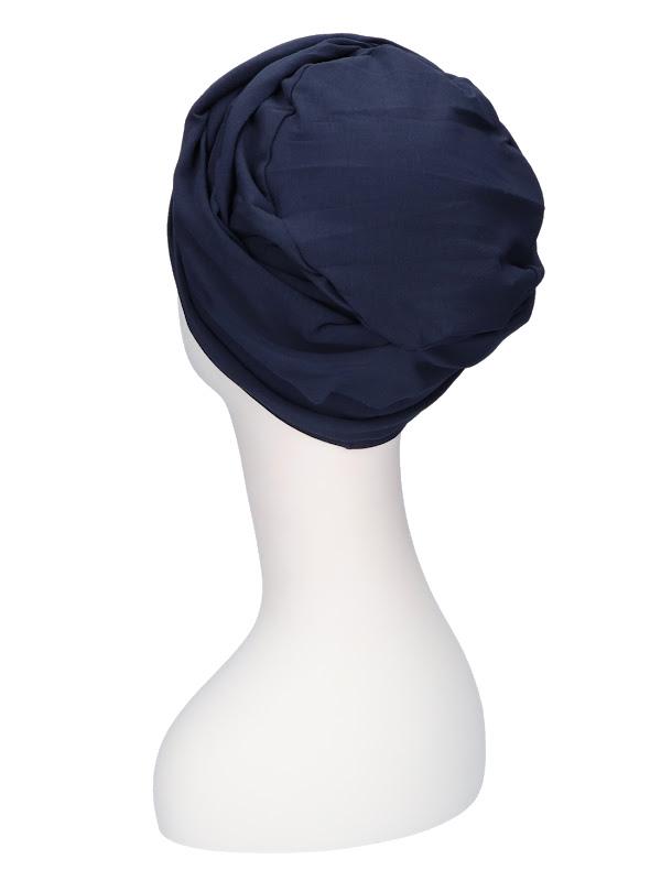 Top PLUS Navy  - chemotherapy headwear / alopecia headcover