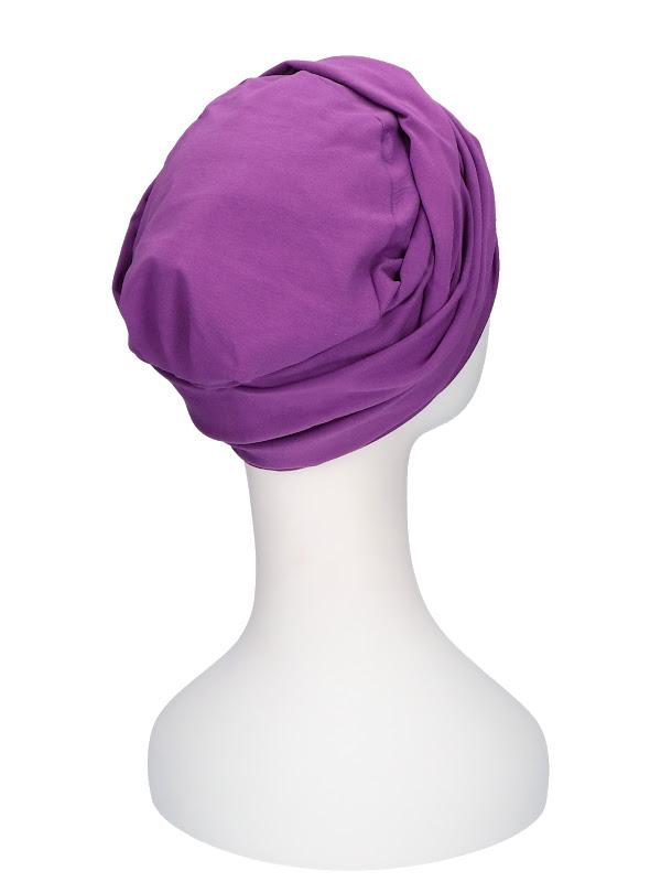 Top PLUS Purple - cancer hat / alopecia hat