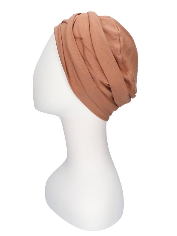 Top PLUS brique melee - chemotherapy headcover & alopecia headwear