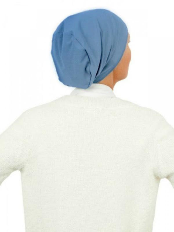 Top Tio blue - chemo hat / alopecia hat