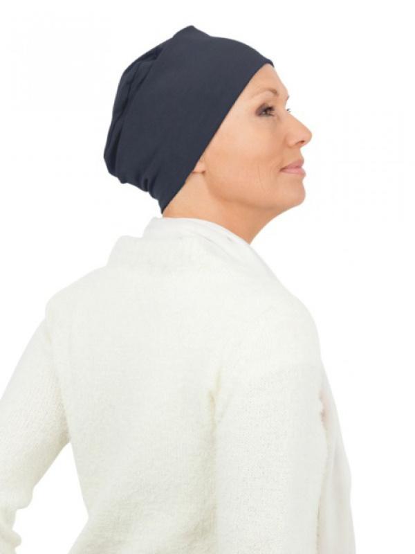 Top Tio navy - chemotherapy headwear / alopecia headcover