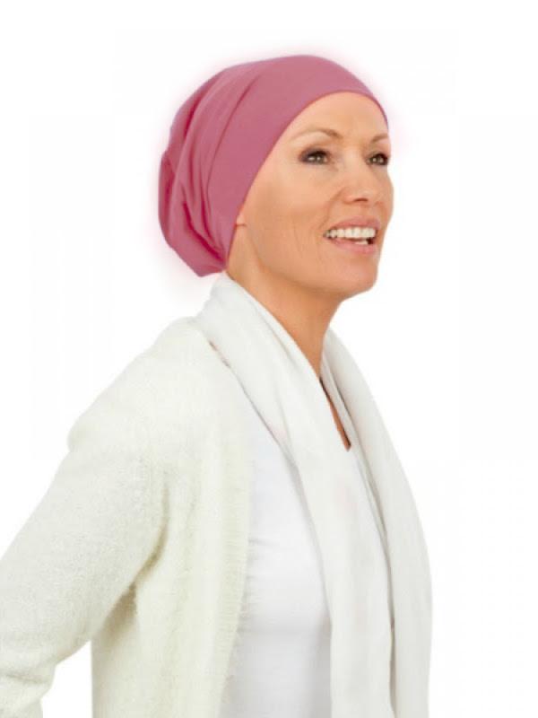 Top Tio blush - chemo hat / alopecia hat