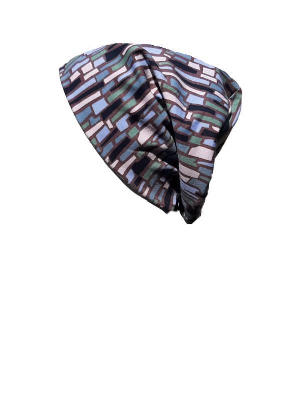 Top Tio Mauve Stones - chemo hat / alopecia hat
