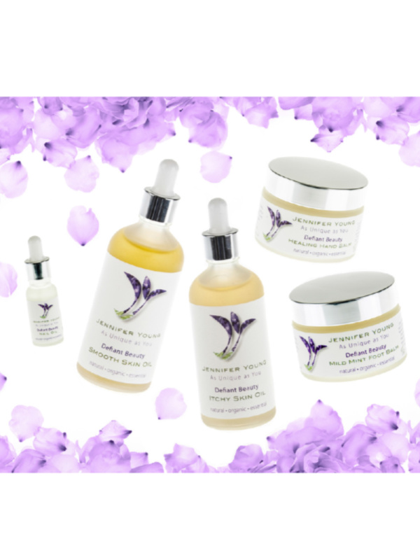 Defiant Beauty Smooth Skin Oil shop at My Headwear, specilised in chemo hats and cosmetics