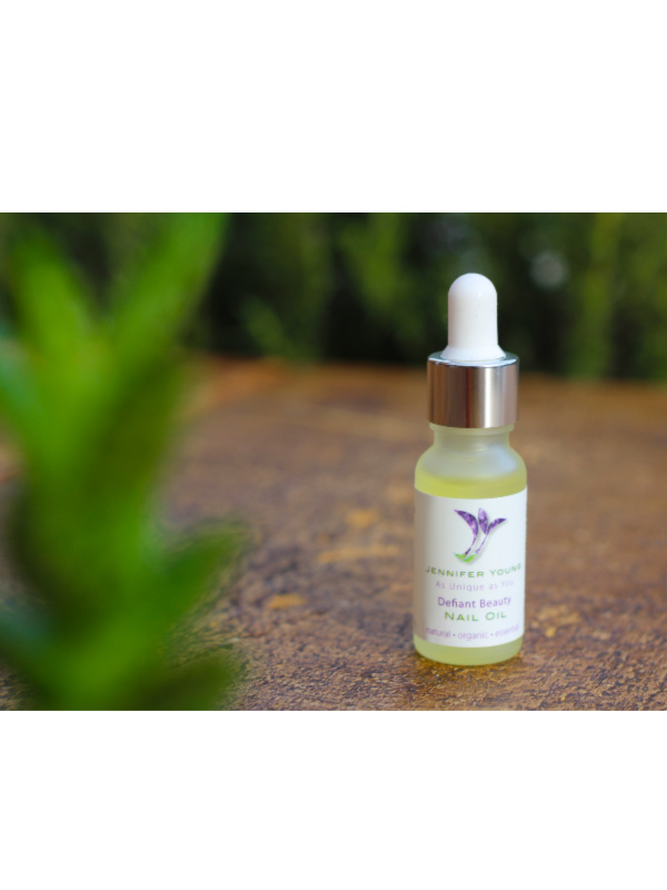 Defiant Beauty Nail oil buy now at My Headwear, specilised in chemo hats and cosmetics