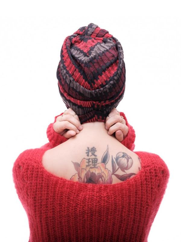 Turban Vintage Stripped - chemo mutsje / alopecia mutsje - EN