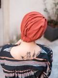Turban Vintage Rusty - chemo mutsje / alopecia mutsje - EN
