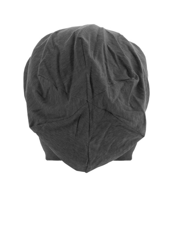 Top beanie  jersey 10285 charcoal - chemo mutsje / alopecia mutsje - EN