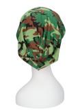 Top camo green/black - chemotherapy headwear - alopecia hat