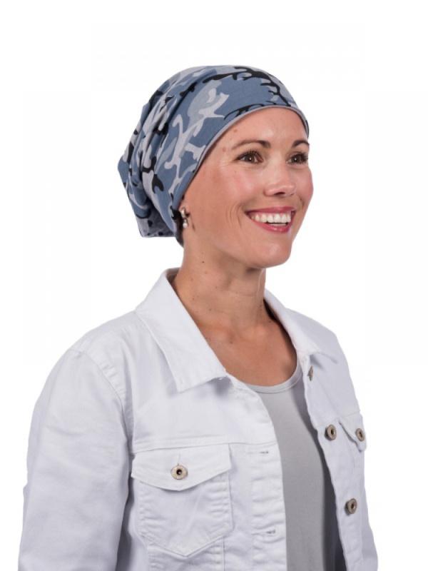 Top camo - chemo mutsje / alopecia mutsje - EN