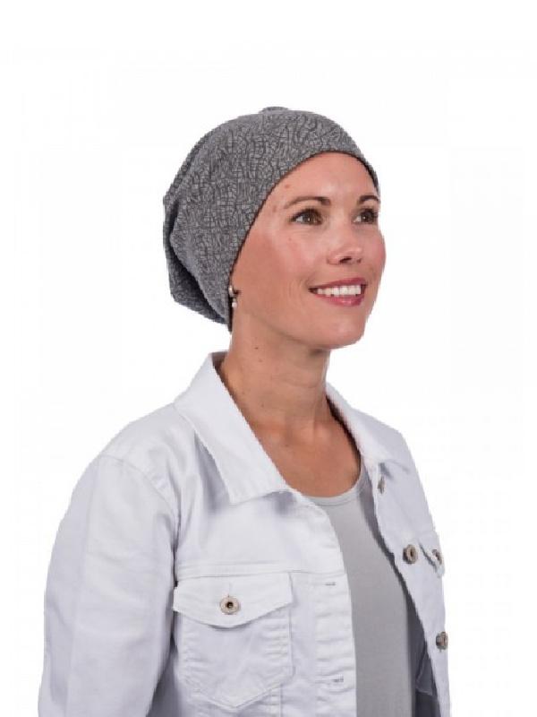 Top crush grey - chemo hat / alopecia hat