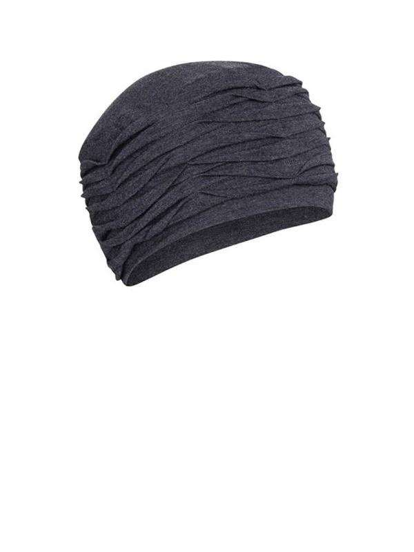 Top Willow Blue Melange - chemo hat  / alopecia hat