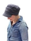 Pet Diane Jeans - chemo mutsje / alopecia mutsje - EN