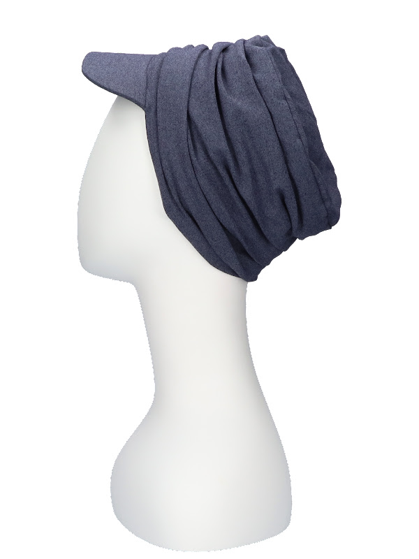Cap Diane Jeans - chemo hat / alopecia headwea