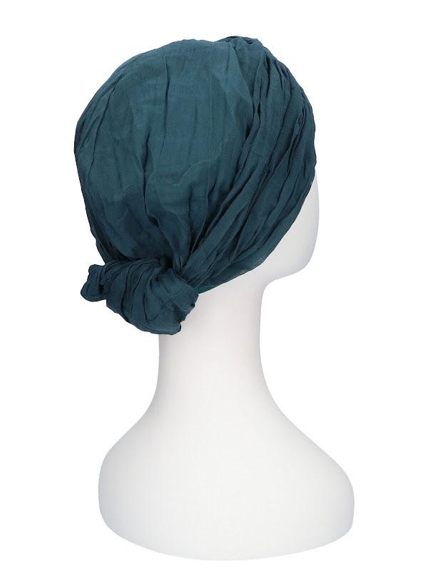 Top Mano Petrol - chemo hat / alopecia headwear
