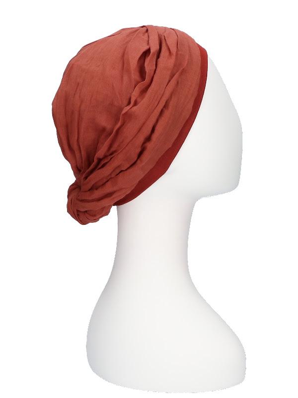 Top Mano Brique - chemo hat / alopecia hat