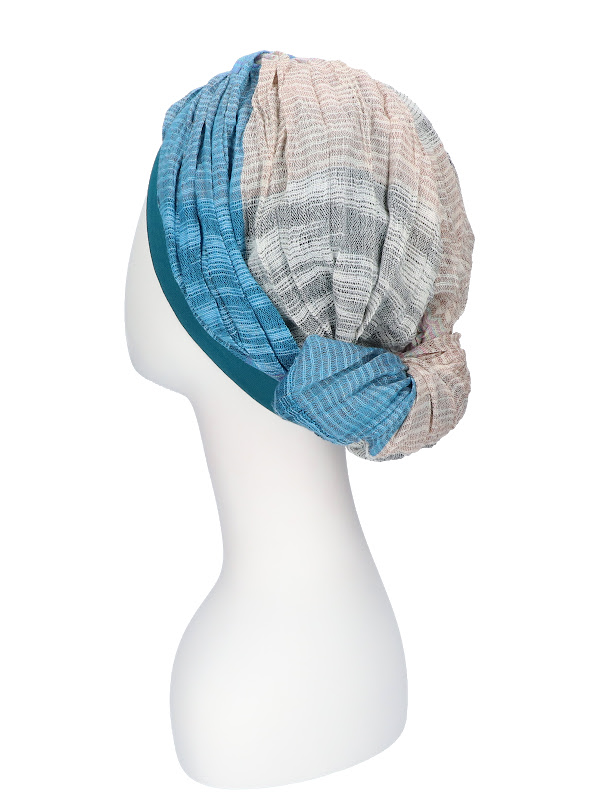 Top Mano print P - chemo hat / alopecia hat