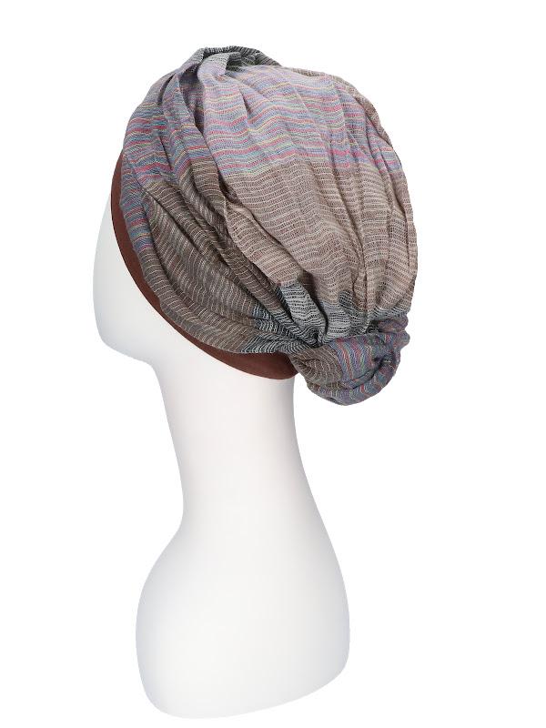 Top Mano print B - chemo hat / alopecia hat