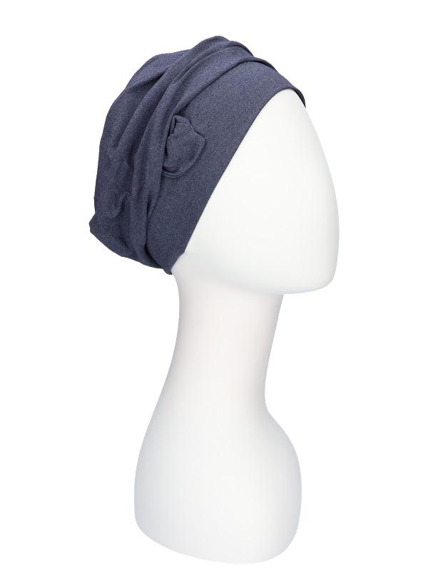 Hat Maya jeans - cancer hat / alopecia headwear