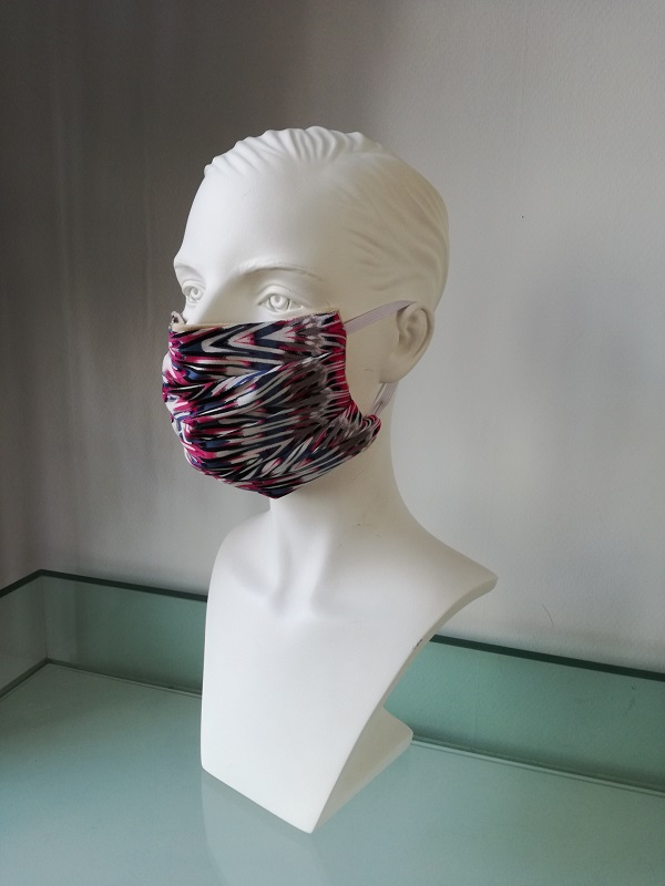facemask zigzag buy now at My Headwear, specilised in chemo hats and cosmetics
