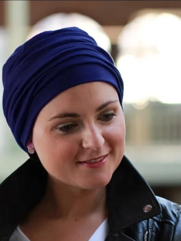 Top Noa Navy - cancer hat / alopecia hat