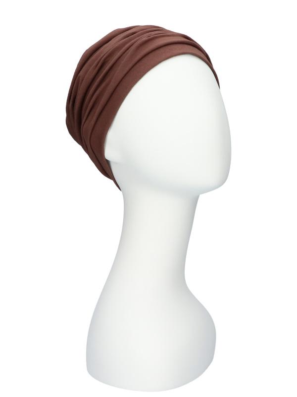 Top Noa brown - cancer hat / alopecia hat
