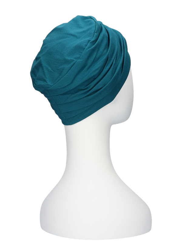 Top Noa turquoise - chemo hat / alopecia hat