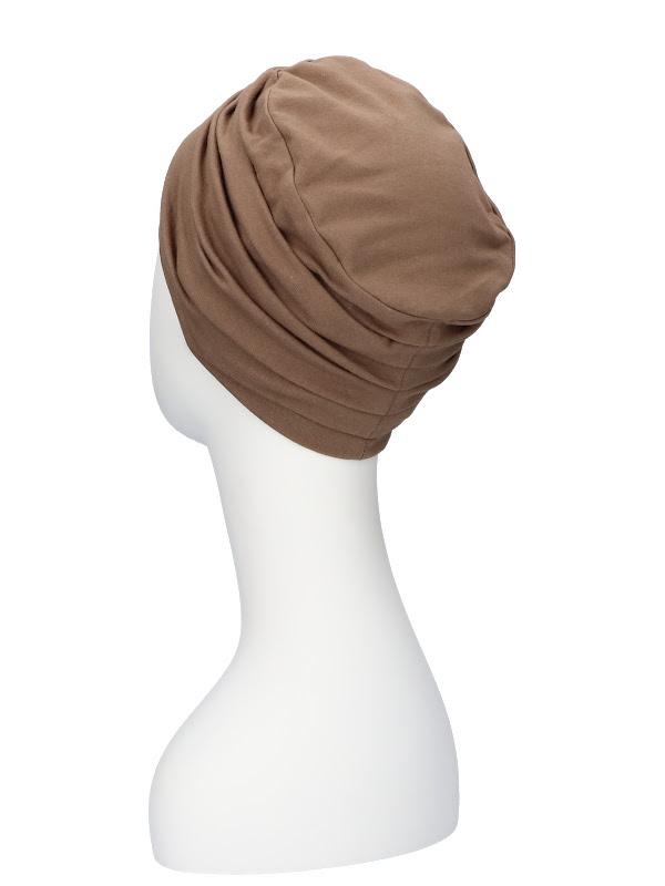 Top Noa taupe - chemo hat / alopecia hat