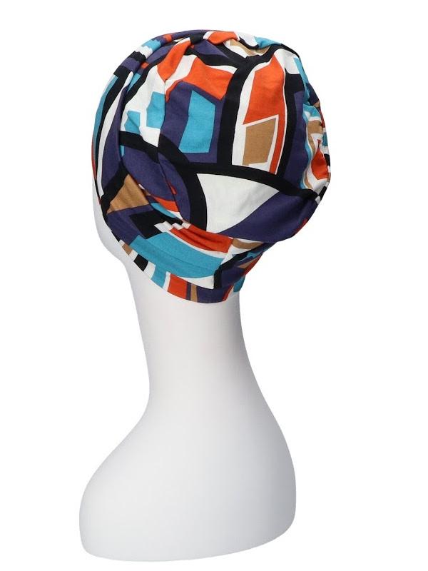 Noa Print - chemo hat / alopecia headwear