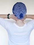 Sjaalmutsje New Delhi triangle B - chemo hoofdsjaal / alopecia sjaal - EN