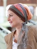 Scarf-hat Tania Autumn - chemo headscarf