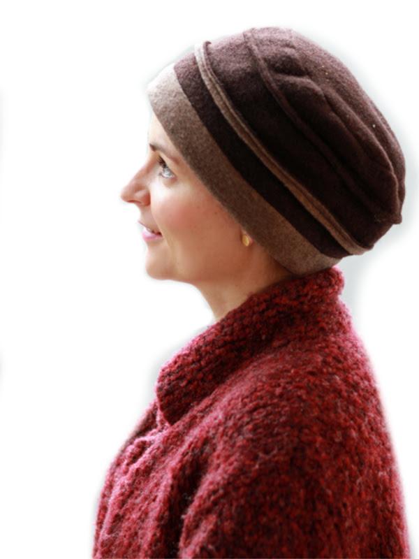 Hat Zoë Brown - chemo headwear (winter)