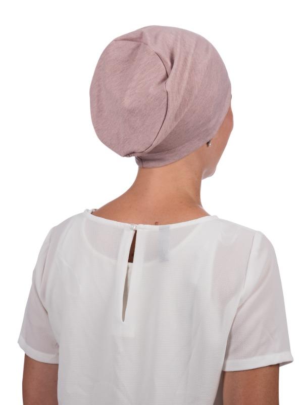 Top Tio Salmon - cancer hat / alopecia headwear